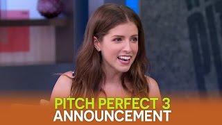 Anna Kendrick on GMA: Pitch Perfect 3 Announcement