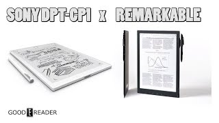 Sony DPT CP1 vs Remarkable Comparison