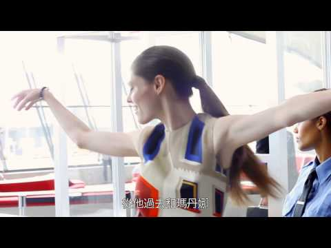 Interview Coco Rocha for Facebook fans (TW subs) - Longchamp, Spring 2013 Campaign