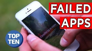 Top 10 Failed Apps of All Time | Apple & Android Apps Including Google+, Yik Yak, V2 | Top 10 Daily