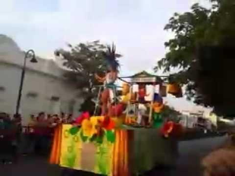 El desfile de carrozas #FiestaDelmar2014