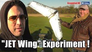 JET Wing EXPERIMENT (Crunching CRASHES, FUNNY Fails and LUCKY Wins !)
