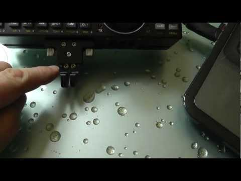 Elecraft KX3 CW Paddle Tension Trick