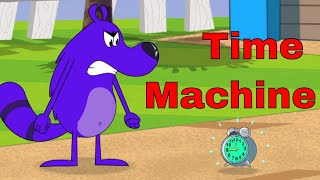 Time Machine Ep - 26 - Pyaar Mohabbat Happy Lucky - Hindi Animated Cartoon Show - Zee Kids