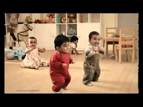 Kit Kat Dancing Kids Tv Commercial video