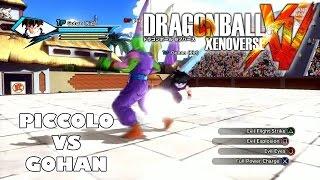 Dragon Ball Xenoverse - Piccolo vs Gohan (PS4 Local Multiplayer Gameplay)