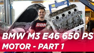 Passt der 650 PS LS3 Chevi Motor in den #BBMM3 V8 E46 - BBMTHREE Part 3