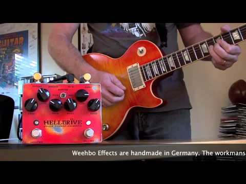 Weehbo Effekte: HELLDR�VE (Les Paul to HIWATT SA212)
