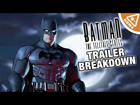 Batman Telltale Game Trailer Breakdown! (Nerdist News w/ Jessica Chobot)