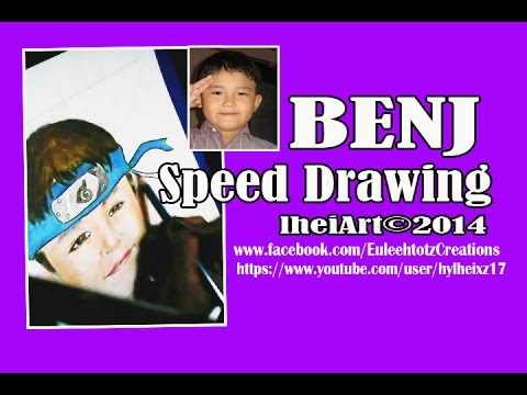 BENJ PUBLICO (Caricature Speed Drawing)
