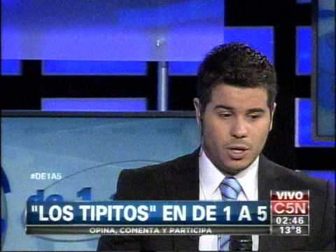 C5N – MUSICA: LOS TIPITOS EN DE 1 A 5 (PARTE 1)