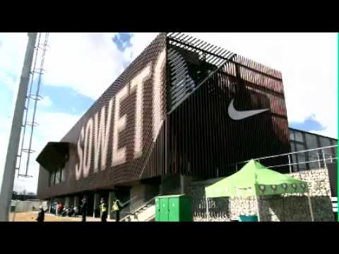 Nike Football - Pep Guardiola visits Nike's Soweto Football Training Centre