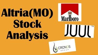 Altria Stock Analysis | JUUL | Cronos Group | FDA Menthol Ban