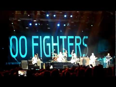 Foo Fighters with Bob Mould - Dear Rosemary - Live @ Deluna Festival Pensacola Beach, FL 9-22-2012