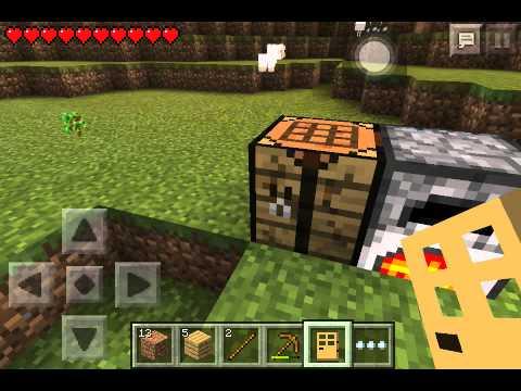 วิธีทำประตูล่องหน? Minecraft pe 0.9.5