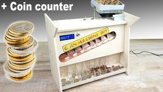 Coin counter Machine DIY - Conta monete fai da te a vibrazione
