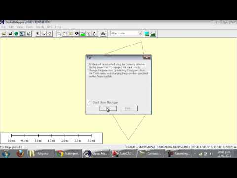 Autocad aidc google videolike for Dwg to kmz
