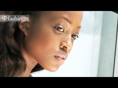 Hair & Makeup - Elie Saab Backstage - Paris Fashion Week Spring 2012 PFW | FashionTV - FTV
