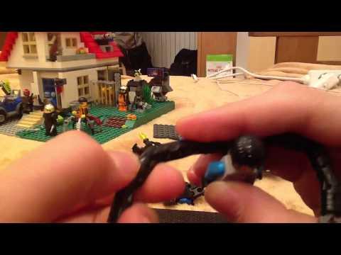 Lego Agents Custom Minifigures Review(обзор на лего человек