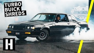 "Buick Grand National Shreds the Burnyard and ""WE"" Wreck Shartkart!"