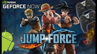 JUMP FORCE - 2P VS - NVIDIA SHIELD