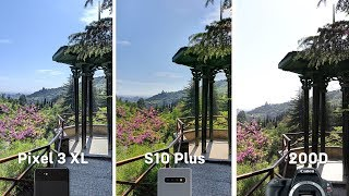 Pixel 3 XL vs Galaxy S10 Plus vs Canon 200D - Camera Comparison - in Georgia