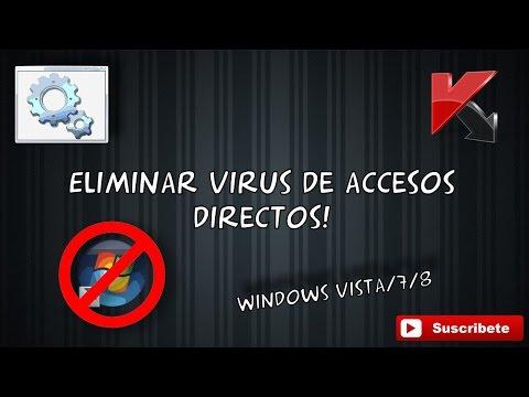 Como eliminar el virus de acceso directo 2015