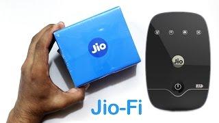 Jio-Fi 2 Reliance 4G Unboxing
