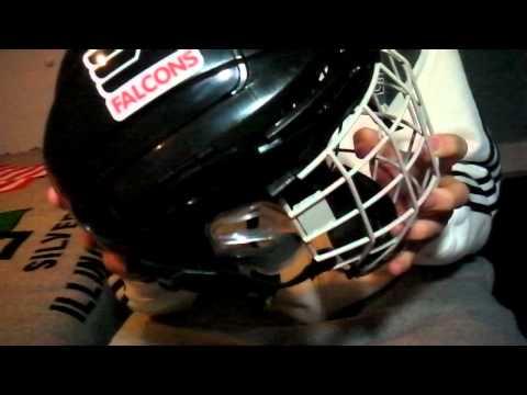 White Helmet White Cage Helmet Ccm White Cage