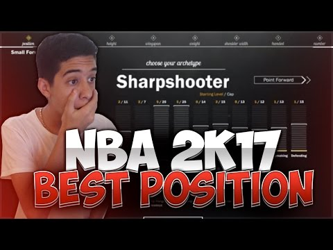 NBA 2K17 PLAYER TELLS ME THE BEST POSITION!!!! 2K17 NEWS