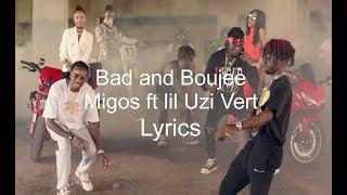 Bad and Boujie(Lyrics)