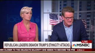 Morning Joe goes off on 'completely racist' Trump for remarks about judge