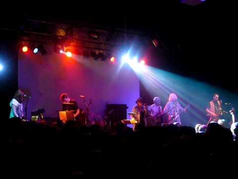 GONG LIVE TOUR 19/11/2009 BRISTOL ACADEMY DAEVID ALLEN GILLI SMITH STEVE HILLAGE MIQUETTE GARAUDY