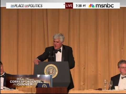 Jay Leno - White House Correspondents' Dinner - Part 3 - May 1, 2010 Video