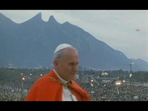 SS San Juan Pablo II en MONTERREY 1990 (Visita Completa)