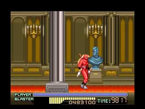 The Ninja Warriors (SNES) - Longplay
