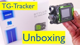 Olympus TG-Tracker Unboxing and Setup - 4K Action Camera