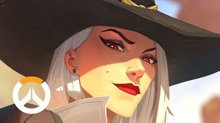 [NEW HERO] Ashe Origin Story | Overwatch