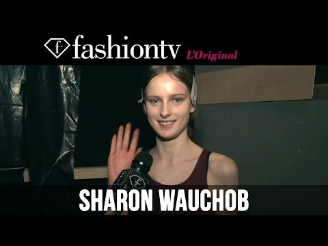 Sharon Wauchob Fall winter 2014-15 Backstage | Paris Fashion Week Pfw | Fashiontv video