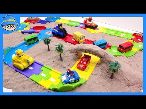 Car toys video for Kids. Learn color with car toys.Car toys on the color road.
