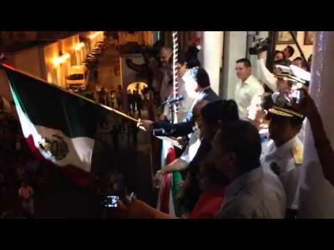 grito de independencia en Manzanillo