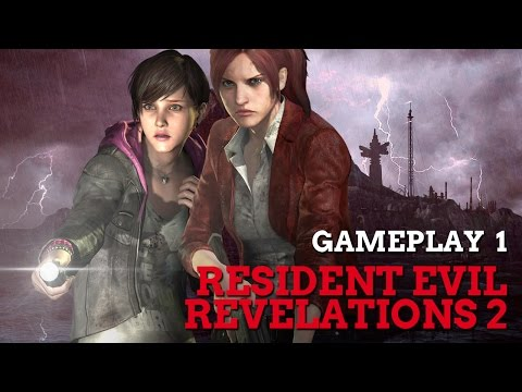Gameplay de Resident Evil Revelations 2 - Parte 1