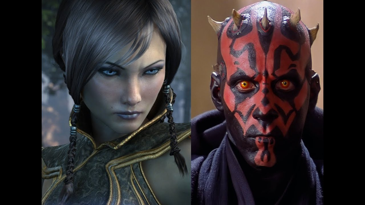 Versus Series Satele Shan VS Darth Maul - YouTube