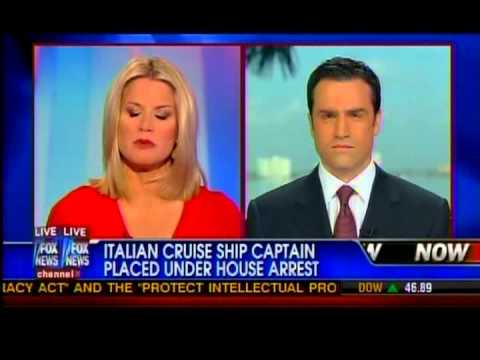 Italian Prosecutors Place Cruise Ship Captain under House Arrest