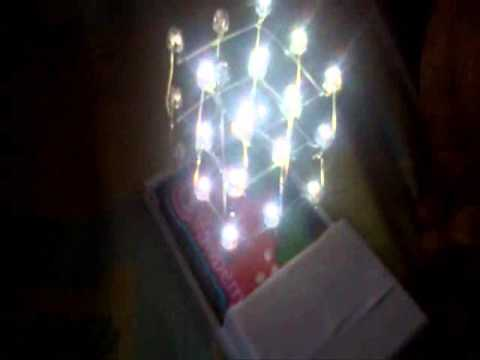 LED cube using 4020 IC and 555 IC