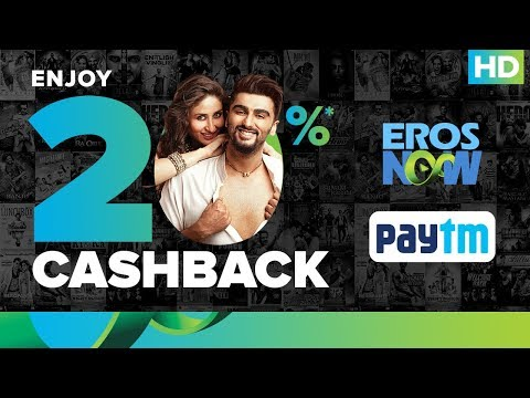 Eros Now | Paytm 20% Cash Back Offer On Monthly Subscription
