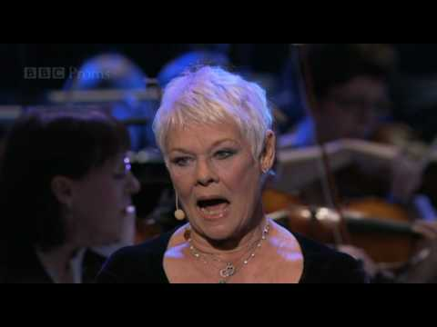 "Dame Judi Dench sings ""Send in the Clowns"" - BBC Proms 2010"