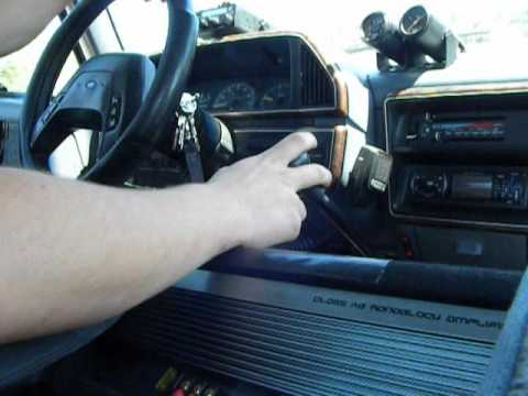 1990 Ford F-250 7.3L w/ Banks Turbo. in cab video
