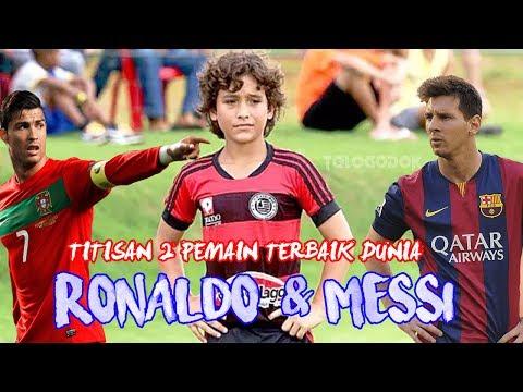 Heboh!!! Bocah 12 Tahun Punya Skill Mirip Lionel Messi dan Ronaldo