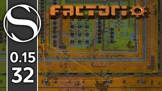 Setting Up The Robot Network | Factorio 0.15 Part 32